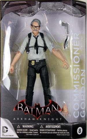 DC Collectibles ~ JIM GORDON ACTION FIGURE ~ Batman Arkham Knight / Asylum