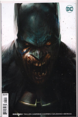 DCEASED #1 (FRANCESCO MATTINA VARIANT) COMIC BOOK ~ DC Comics