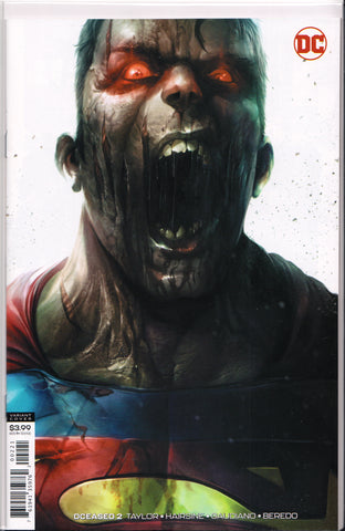 DCEASED #2 (FRANCESCO MATTINA VARIANT) COMIC BOOK ~ DC Comics