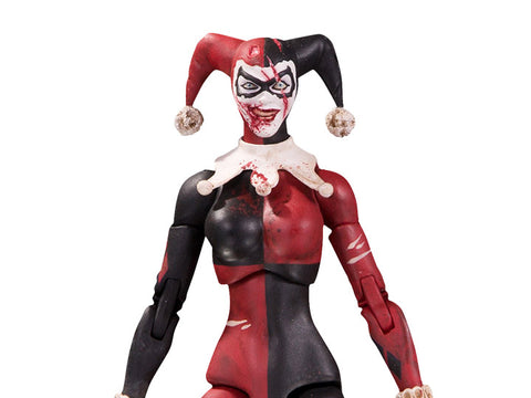 DC Collectibles ~ DCEASED:  HARLEY QUINN ACTION FIGURE ~ DC Essentials Series