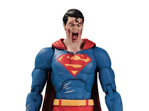 DC Collectibles ~ DCEASED:  SUPERMAN ACTION FIGURE ~ DC Essentials Series