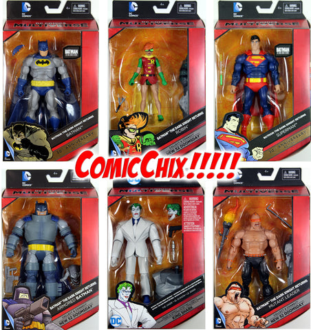 DC Multiverse ~ DARK KNIGHT RETURNS ACTION FIGURE SET ~ Batman, Robin, Joker+++