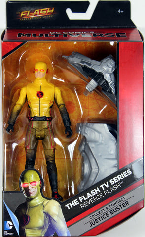 DC Multiverse 2016 ~ REVERSE FLASH Action Figure~ CW TV Version! - Mattel