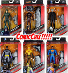 "DC Multiverse 6"" WAVE 1 & 2 COMPLETE ACTION FIGURE SET w/BAF JUSTICE BUSTER"