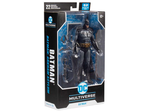 DC Multiverse ~ 7-INCH BATMAN ACTION FIGURE (ARKHAM ASYLUM VERSION) ~ McFarlane Toys