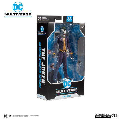DC Multiverse ~ 7-INCH JOKER ACTION FIGURE (ARKHAM ASYLUM VERSION) ~ McFarlane Toys