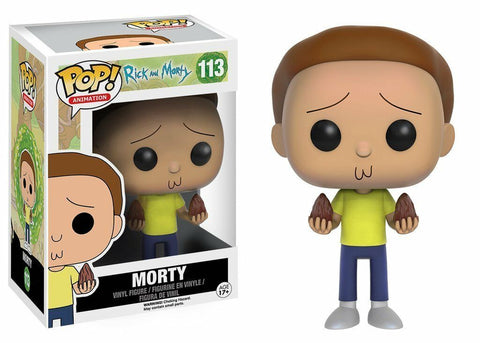 Funko POP! Animation ~ MORTY VINYL FIGURE ~ Rick and Morty