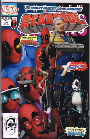 DEADPOOL #1 (JOHN CASSADAY VARIANT) COMIC BOOK ~ Marvel Comics