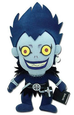 "Death Note ~ 8"" RYUK PLUSH FIGURE ~ Official Great Eastern Company Plushie"