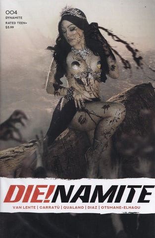 DIE!NAMITE #4 (DEJAH THORIS COSPLAY VARIANT) COMIC BOOK ~ Dynamite Entertainment