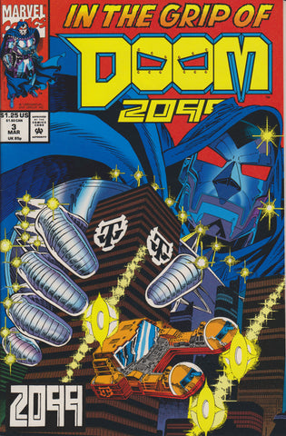 DOOM 2099 #3 COMIC BOOK ~ Marvel Comics