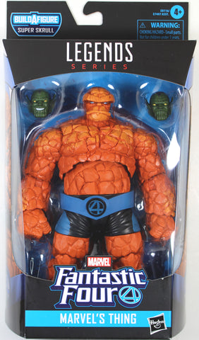 Marvel Legends ~ THE THING ACTION FIGURE ~ Fantastic Four Super Skrull BAF Series