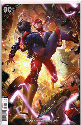 FLASH #71 (DERRICK CHEW VARIANT) COMIC BOOK ~ DC Comics