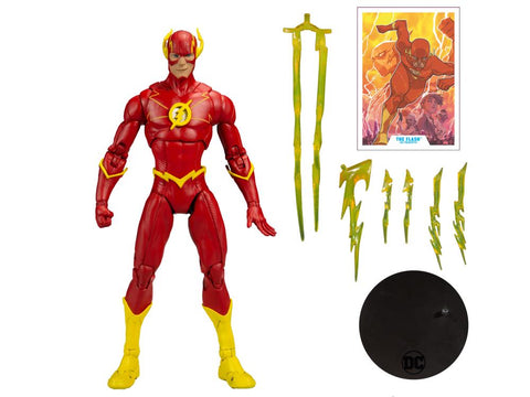 DC Multiverse Wave 3 ~ 7-INCH MODERN FLASH (COMIC VERSION) ~ PRE-ORDER