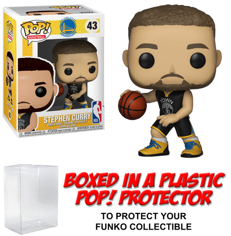 Funko POP! Basketball ~ STEPHEN CURRY (#43) FIGURE w/PROTECTOR CASE