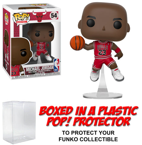 Funko POP! Basketball ~ MICHAEL JORDAN (#54) FIGURE w/PROTECTOR CASE