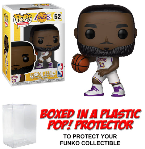 Funko POP! Basketball ~ LEBRON JAMES (#52) FIGURE w/PROTECTOR CASE