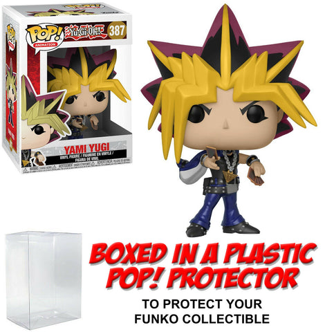 Funko POP! Animation ~ YAMI YUGI (#387) with Protector Case ~ Yu-Gi-Oh!
