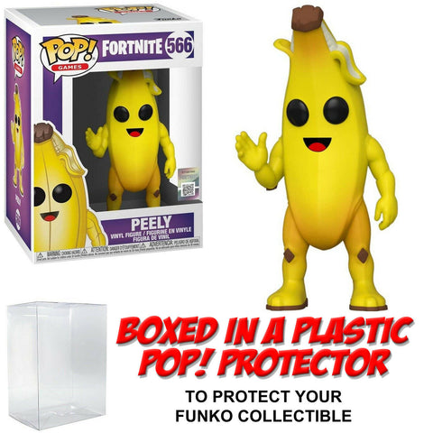 Funko POP! Games ~ PEELY (#566) w/Protector Case ~ Fortnite
