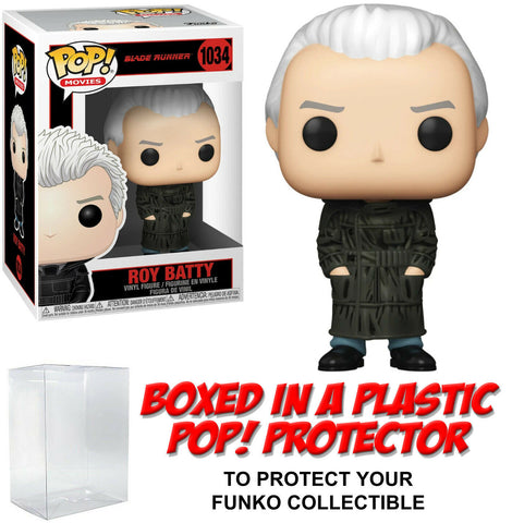 Funko POP! Movies ~ ROY BATTY (#1034) w/Protector Case ~ Blade Runner