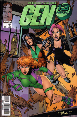 GEN 13 ANNUAL #1 COMIC BOOK ~ Image Comics ~ Steve Dillon Art