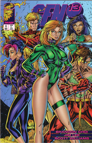 GEN 13 #6 (VOLUME 2) COMIC BOOK ~ Image Comics ~ Jim Lee Art