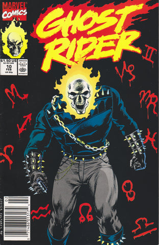 GHOST RIDER #10 (Volume 2) COMIC BOOK ~ Marvel Comics
