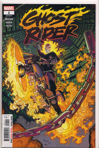 GHOST RIDER #1 (1ST PRINT)(2019) COMIC BOOK ~ Marvel Comics