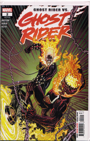 GHOST RIDER #2 (1ST PRINT)(2019) COMIC BOOK ~ Marvel Comics
