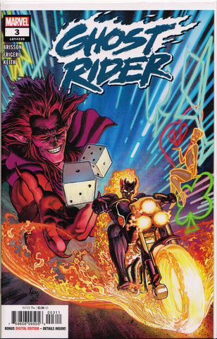 GHOST RIDER #3 (1ST PRINT)(2019) COMIC BOOK ~ Marvel Comics