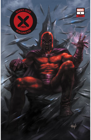 GIANT-SIZE X-MEN: MAGNETO #1 (RED COSTUME)(LUCIO PARRILLO EXCLUSIVE VARIANT COVER) ~ PRE-SALE