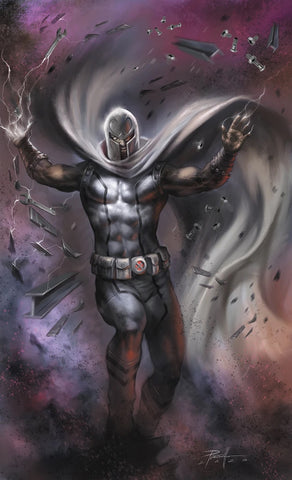 GIANT-SIZE X-MEN: MAGNETO #1 (WHITE COSTUME)(LUCIO PARRILLO EXCLUSIVE VARIANT COVER) ~ PRE-SALE