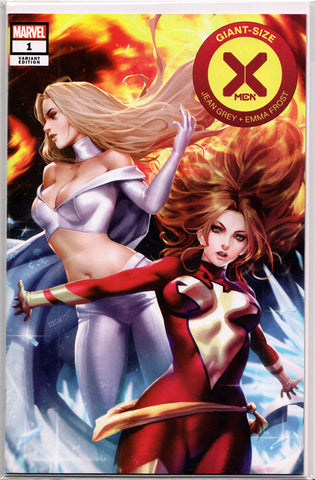 GIANT-SIZE X-MEN: JEAN GREY & EMMA FROST #1 (DERRICK CHEW EXCLUSIVE VARIANT COVER) ~ Marvel Comics