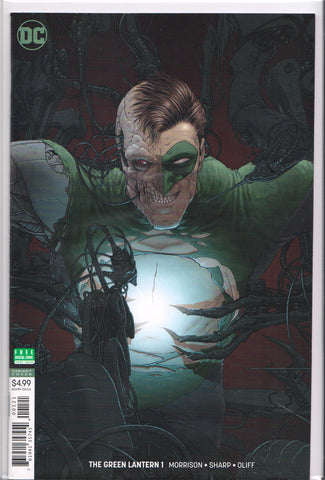 GREEN LANTERN #1 (FRANK QUITELY VARIANT COVER) ~ DC Comics