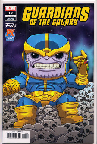 GUARDIANS OF THE GALAXY #12 (FUNKO PX EXCLUSIVE) COMIC BOOK ~ Marvel Comics