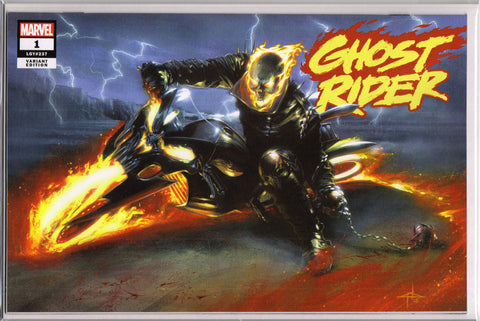 GHOST RIDER #1 (DELL'OTTO EXCLUSIVE VARIANT)(2019) COMIC BOOK ~ Marvel Comics