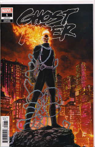 GHOST RIDER #1 (KUDER)(2019) COMIC BOOK ~ Marvel Comics