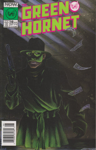 GREEN HORNET #10 COMIC BOOK ~ Now Comics