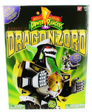 Power Rangers Legacy ~ GREEN DRAGONZORD ACTION FIGURE w/DIE CAST PARTS ~ Bandai