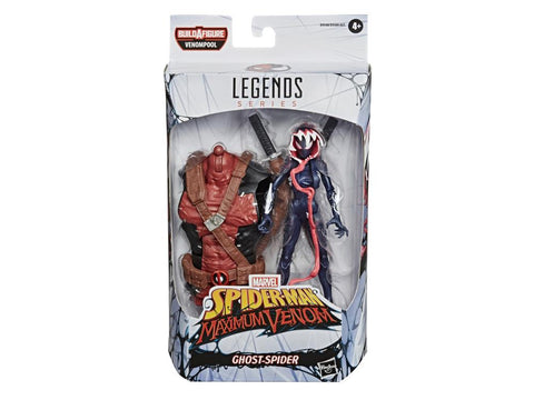 Marvel Legends ~ GHOST SPIDER (VENOMIZED)(aka GWENOM) ACTION FIGURE ~ Venompool BAF Series ~ PRE-ORDER