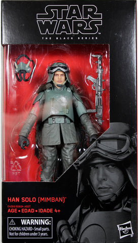 "Star Wars Black Series ~ 6"" HAN SOLO (MIMBAN)(MUD TROOPER) Action Figure ~ Solo"