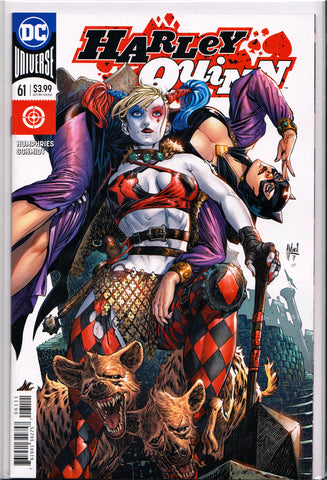 HARLEY QUINN #61 (VARIANT COVER) ~ DC Comics