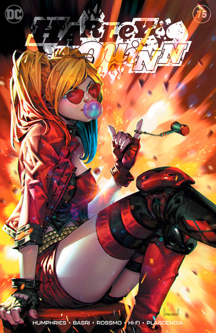 HARLEY QUINN #75 (KAEL NGU EXCLUSIVE VARIANTS) ~ DC Comics ~ PRE-SALE