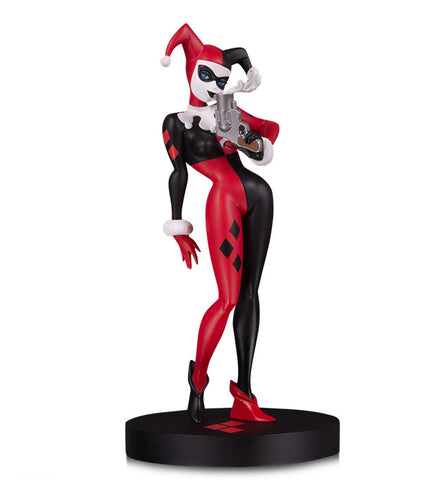 DC Collectibles ~ HARLEY QUINN MINI-STATUE ~ Designed by Bruce Timm