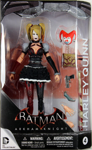 DC Collectibles ~ HARLEY QUINN (VER. 1) FIGURE ~ Batman Arkham Knight / Asylum