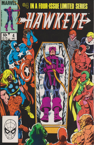 HAWKEYE #4 COMIC BOOK ~ MARVEL COMICS