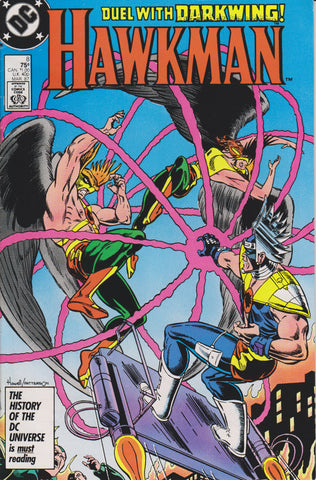 HAWKMAN #8 (1986) COMIC BOOK ~ DC COMICS