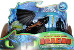 How to Train Your Dragon 3 ~ HICCUP & TOOTHLESS ACTION FIGURE SET ~ Spin Master