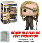 Funko POP! Movies ~ MAD-EYE MOODY VINYL FIGURE w/PROTECTOR CASE ~ Harry Potter