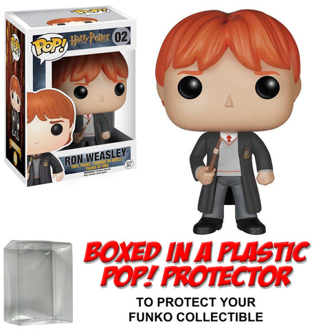 Funko POP! Movies ~ RON WEASLEY VINYL FIGURE w/PROTECTOR CASE ~ Harry Potter